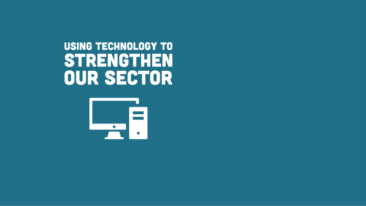 Our impact numbers for using technology to strengthen our sector