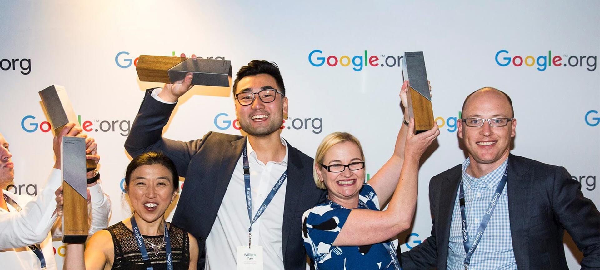 Congratulations to the Google Impact Challenge winners