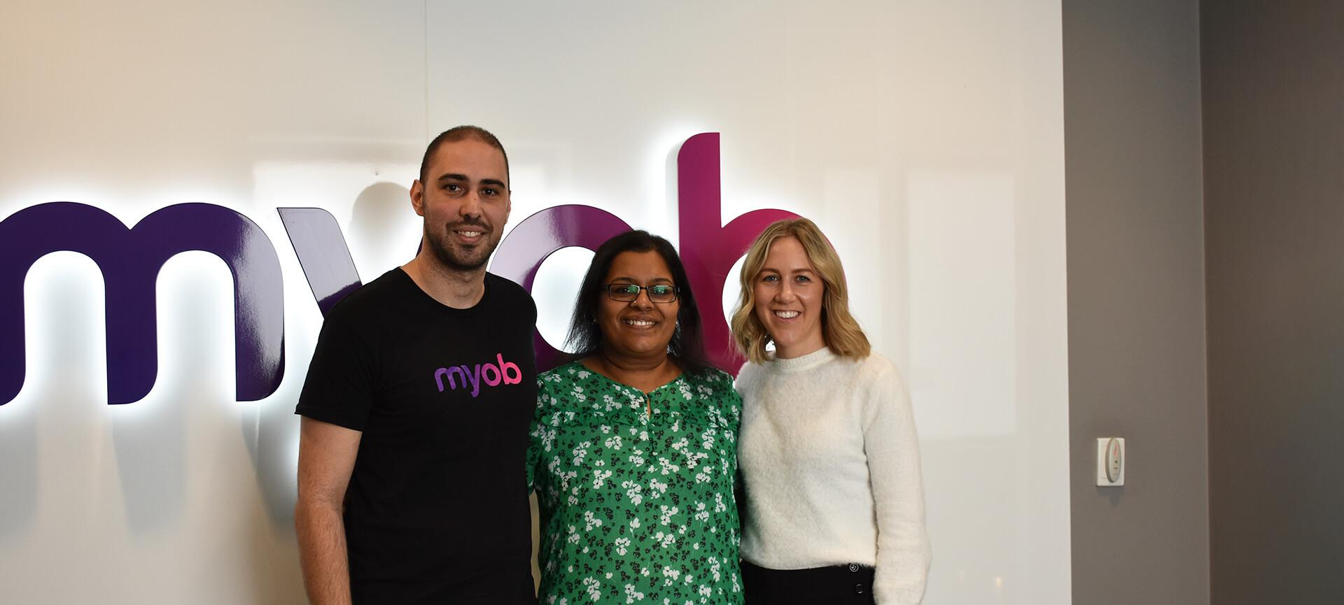 Madhuri at MYOB
