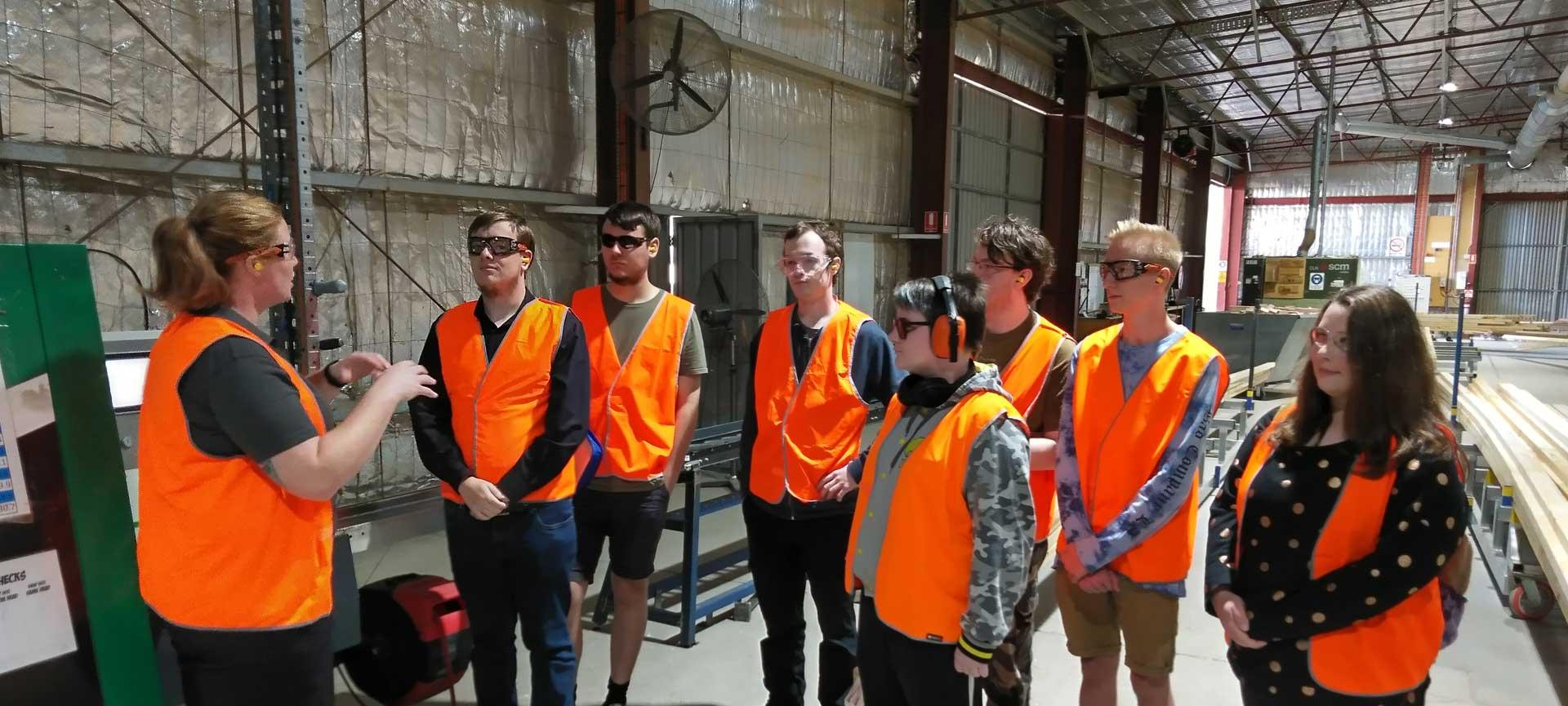 Tech Ready students visiting Merriwa