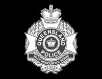 Queensland Police logo mono