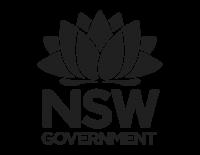 NSW gov logo mono