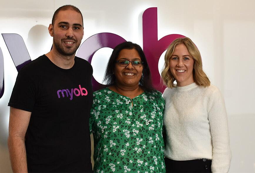 Madhuri and MYOB