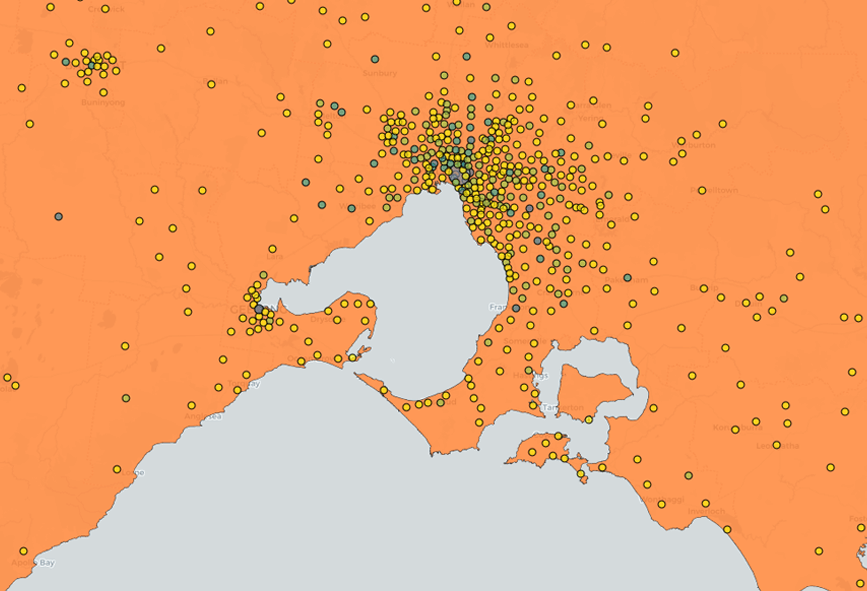 Close up on Melbourne data on the Open Data Platform