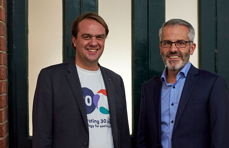 David Spriggs and Stan Krpan, 2019
