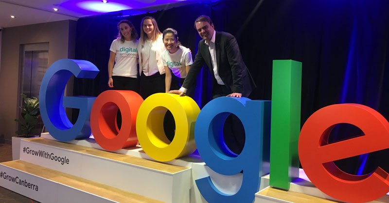 Digital Springboard at a Grow with Google event