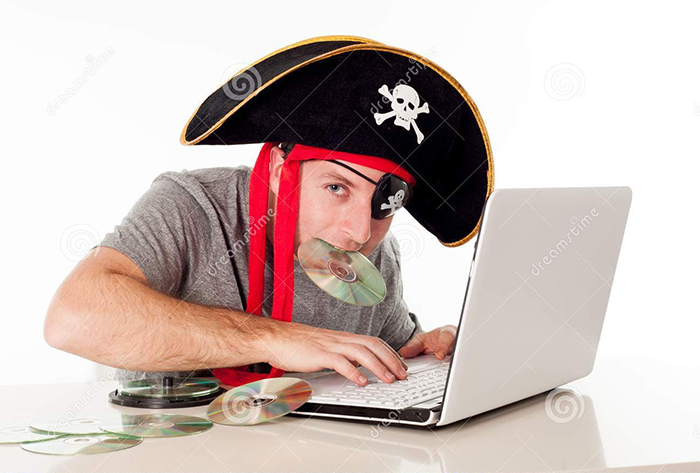 Funny pirate photo from iStock