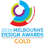 Melbourne Design Awards gold
