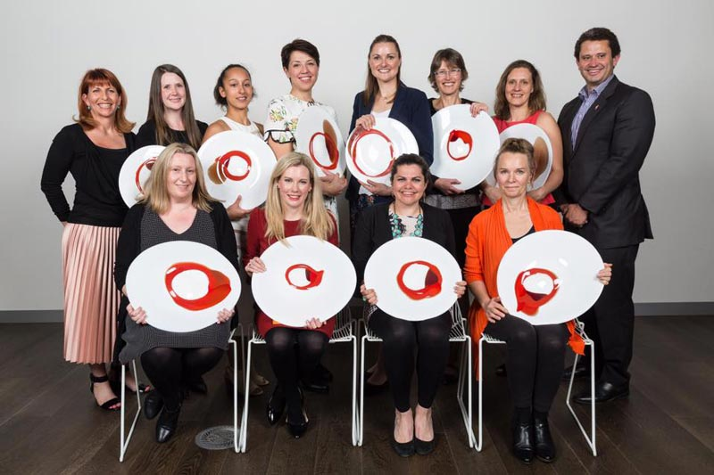 Amy Orange and other Women in Innovation 2017 award winners